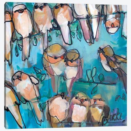 Fourty Loves Canvas Print #BKE6} by Marieke Bekke Canvas Print