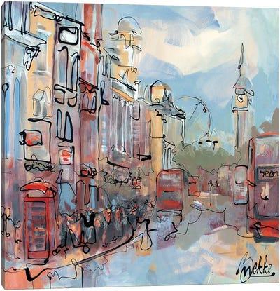 Historic London Canvas Art Print