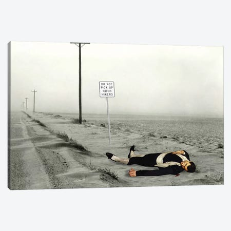 Dead Toreador Canvas Print #BKI11} by Barry Kite Canvas Wall Art
