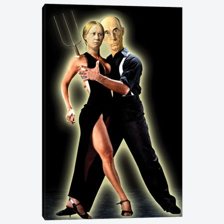 Gothic Tango Canvas Print #BKI17} by Barry Kite Art Print