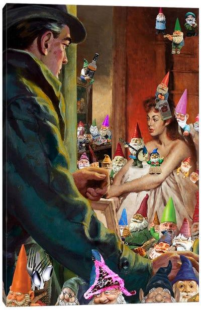 Gnome Alone Canvas Art Print