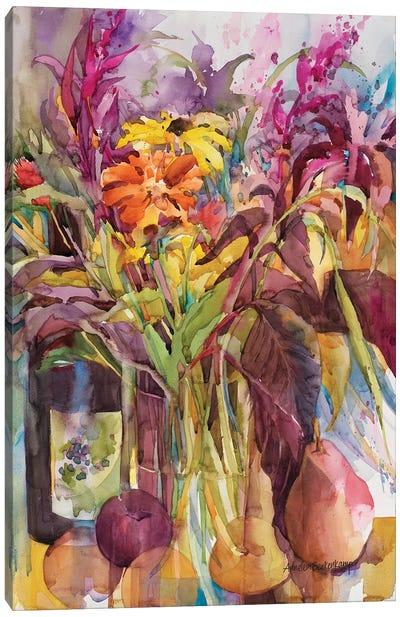 Petals Of Purple Canvas Art Print