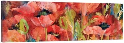 Petals On Parade Canvas Art Print