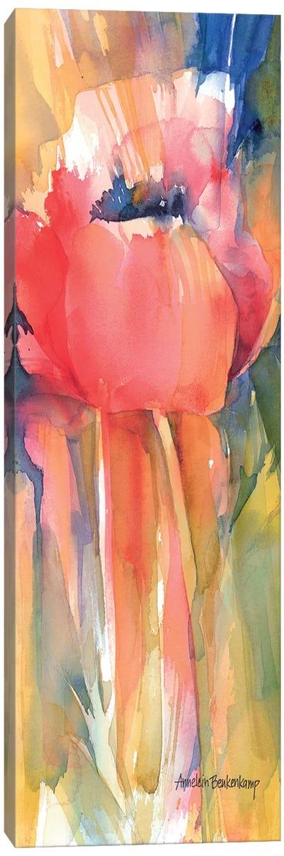 Posing Canvas Art Print