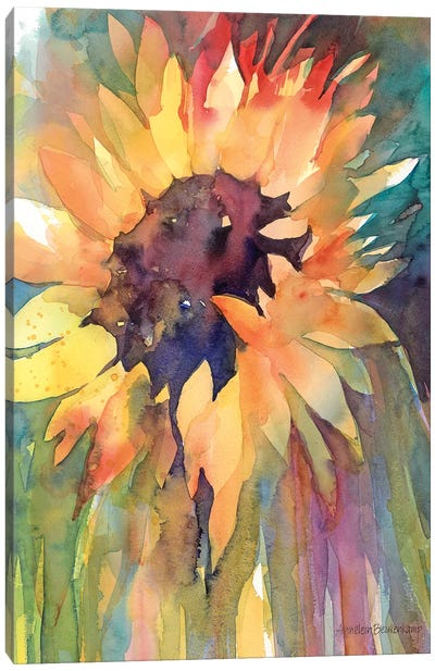 Rays Of Sun Canvas Art Print