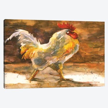 Rooster Barn Canvas Print #BKK131} by Annelein Beukenkamp Canvas Artwork