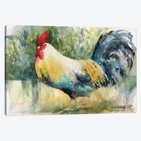 Sly Strutter Canvas Print #BKK144} by Annelein Beukenkamp Canvas Art