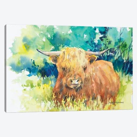 Steer I Canvas Print #BKK156} by Annelein Beukenkamp Canvas Print