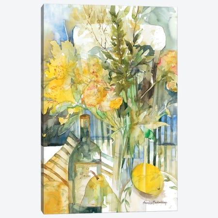 Striped Cloth Canvas Print #BKK159} by Annelein Beukenkamp Canvas Wall Art