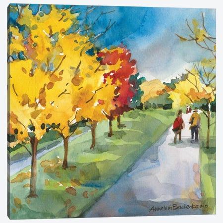 Strolling Canvas Print #BKK160} by Annelein Beukenkamp Canvas Print