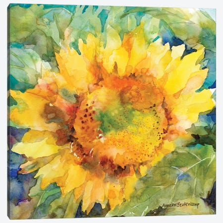 Sunshower Canvas Print #BKK168} by Annelein Beukenkamp Art Print