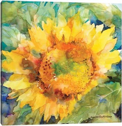 Sunshower Canvas Art Print