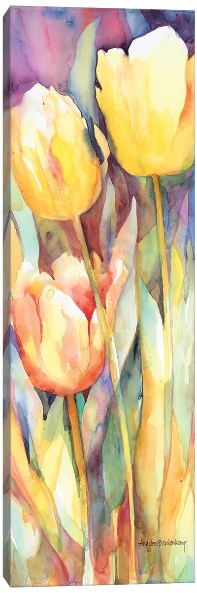 Tall Blondes Canvas Art Print