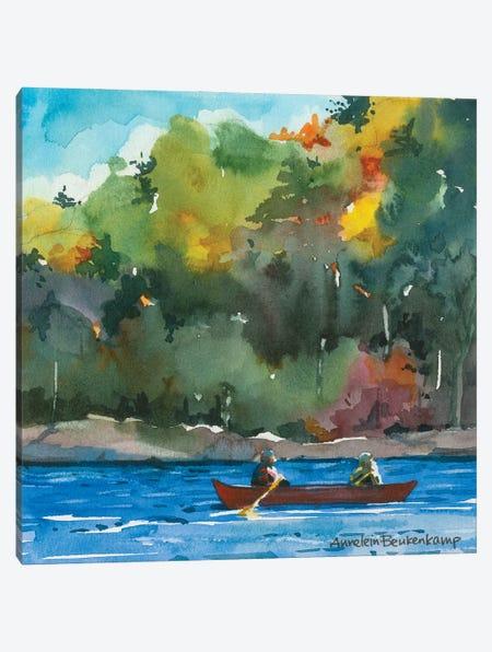 Tranquility Canvas Print #BKK176} by Annelein Beukenkamp Canvas Print