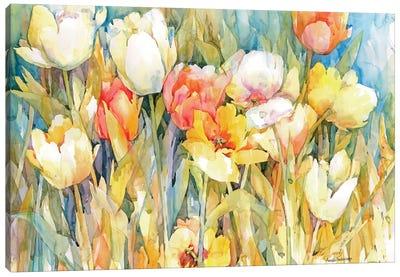 Tulip Team Canvas Art Print