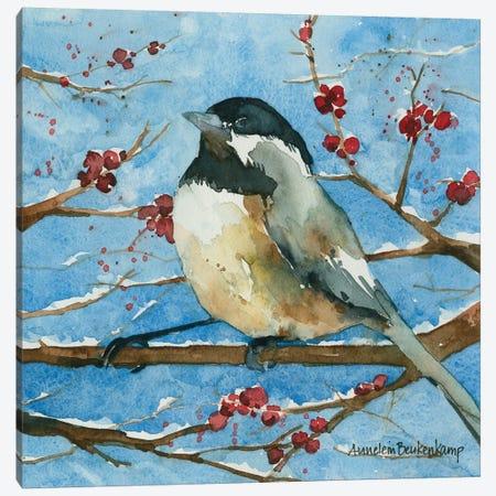 Winter Acrobat Canvas Print #BKK189} by Annelein Beukenkamp Canvas Print