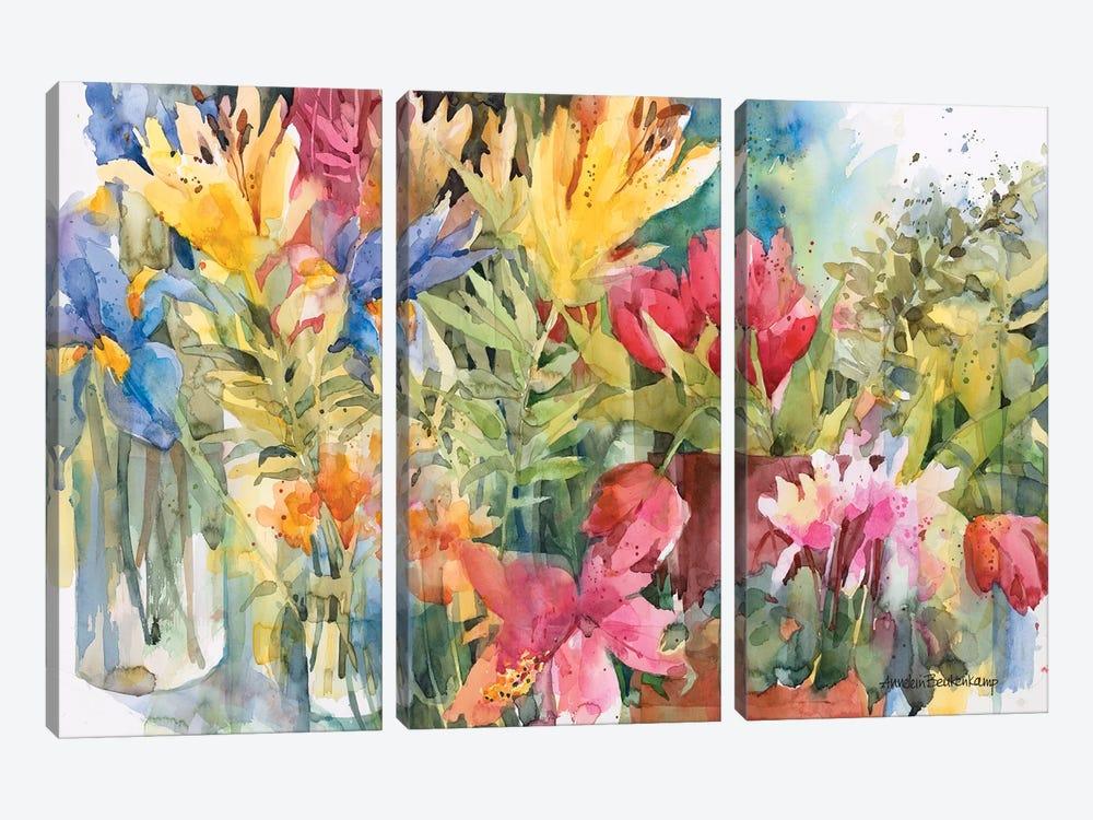 Bountiful by Annelein Beukenkamp 3-piece Canvas Wall Art