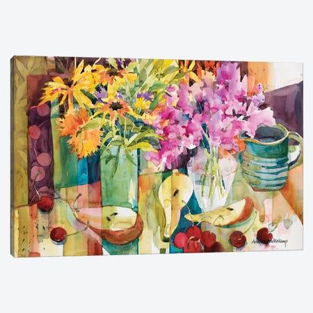 Cherries Jubilee Canvas Print #BKK27} by Annelein Beukenkamp Canvas Art
