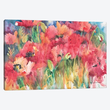 Color Craze Canvas Print #BKK33} by Annelein Beukenkamp Canvas Artwork