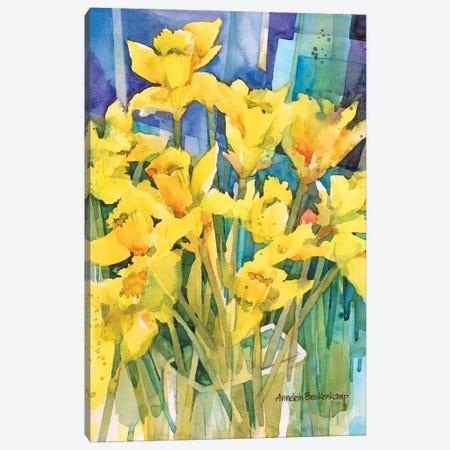 Daffodil Delight Canvas Print #BKK39} by Annelein Beukenkamp Canvas Artwork
