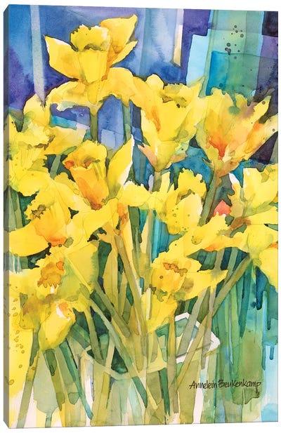 Daffodil Delight Canvas Art Print
