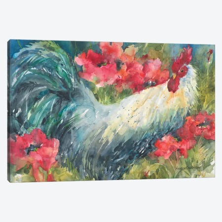Among The Poppies Canvas Print #BKK3} by Annelein Beukenkamp Canvas Wall Art