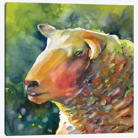Ewe Look Baa-velous Canvas Print #BKK44} by Annelein Beukenkamp Canvas Artwork