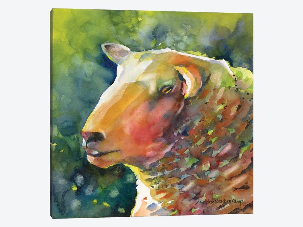 Ewe Look Baa-velous by Annelein Beukenkamp 1-piece Canvas Wall Art