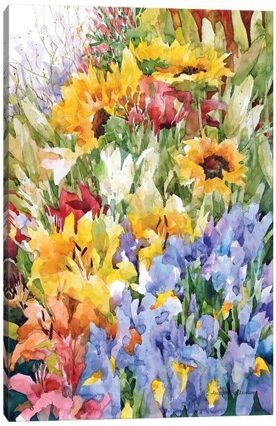 Flower Power Canvas Art Print