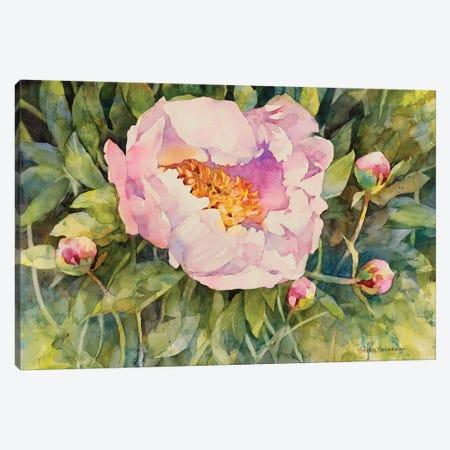 Flowers Canvas Print #BKK53} by Annelein Beukenkamp Canvas Wall Art
