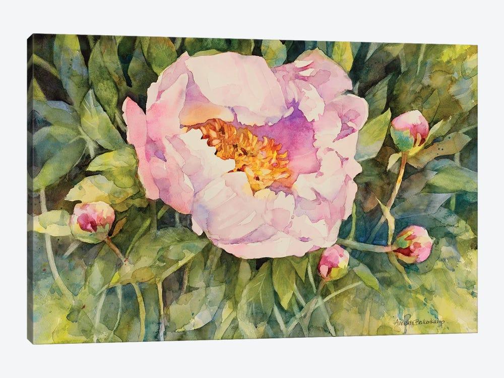 Flowers by Annelein Beukenkamp 1-piece Canvas Art