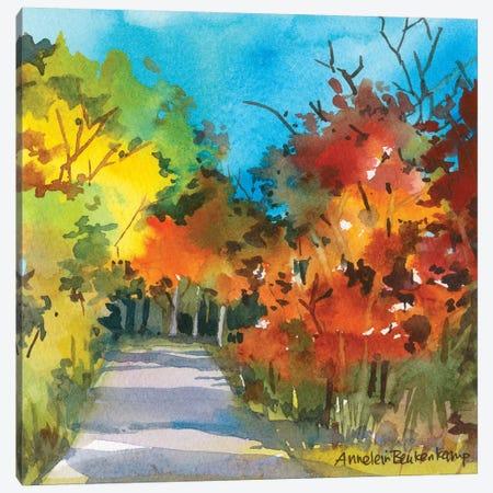 Foliage Canvas Print #BKK55} by Annelein Beukenkamp Art Print