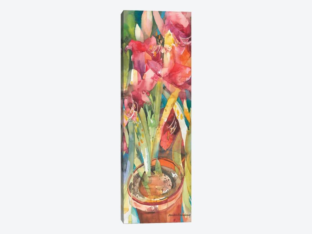 Architectural Amaryllis by Annelein Beukenkamp 1-piece Canvas Art