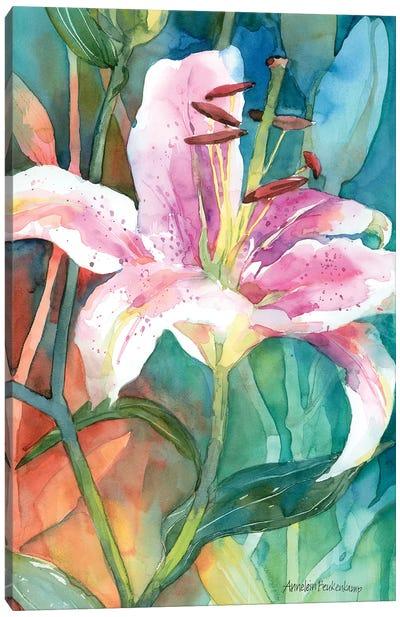 Gaze Into The Light Canvas Art Print