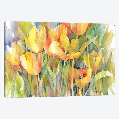Golden Group Canvas Print #BKK70} by Annelein Beukenkamp Canvas Artwork