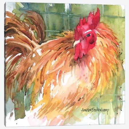 Here's Looking At You Canvas Print #BKK75} by Annelein Beukenkamp Art Print