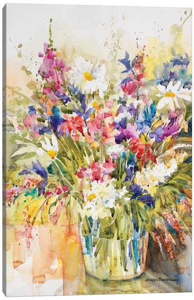 Mix And Match Canvas Art Print