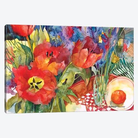 Nature's Bounty Canvas Print #BKK89} by Annelein Beukenkamp Canvas Art Print