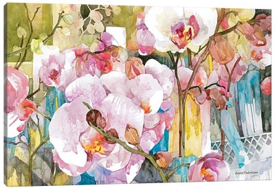 Orchid Oasis Canvas Art Print