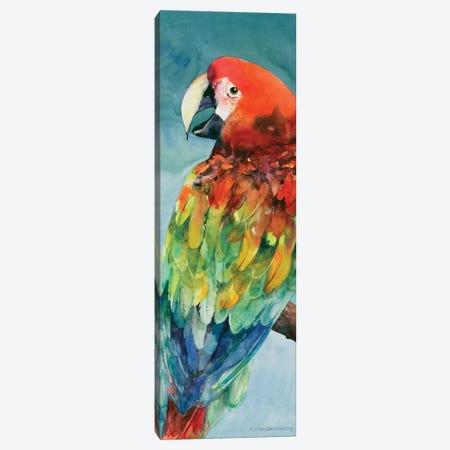 Parrot Canvas Print #BKK99} by Annelein Beukenkamp Canvas Artwork