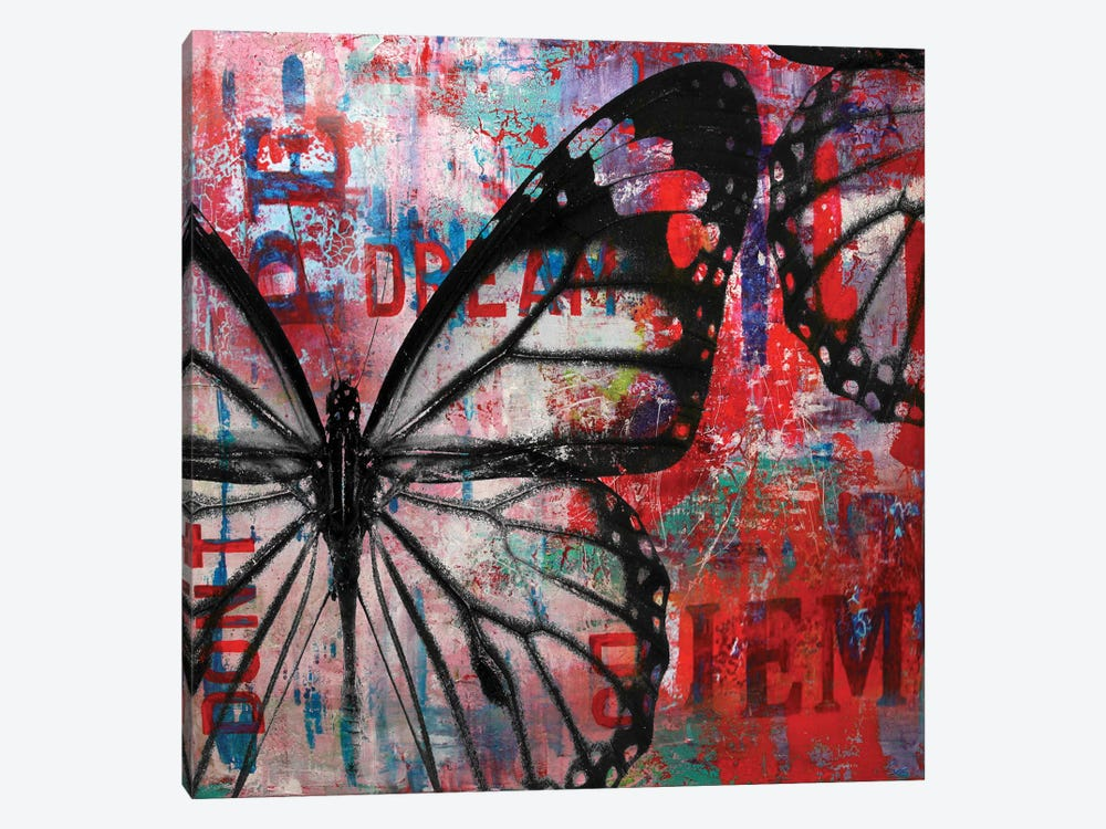 Butterfly IV by Micha Baker 1-piece Canvas Art
