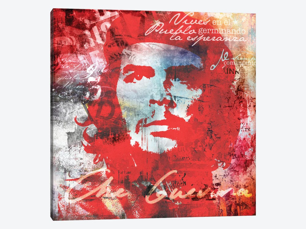 Che by Micha Baker 1-piece Canvas Art Print