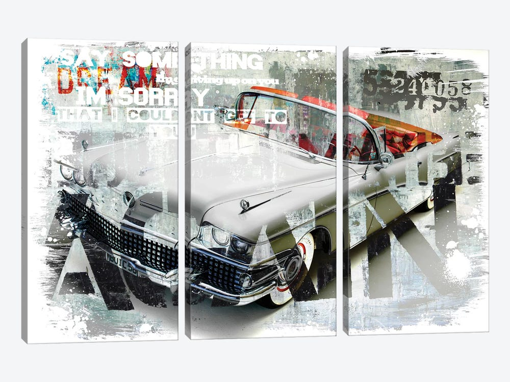 Driving Home I by Micha Baker 3-piece Canvas Wall Art
