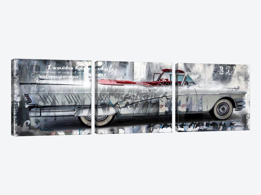 Driving Home II 3-piece Canvas Art Print