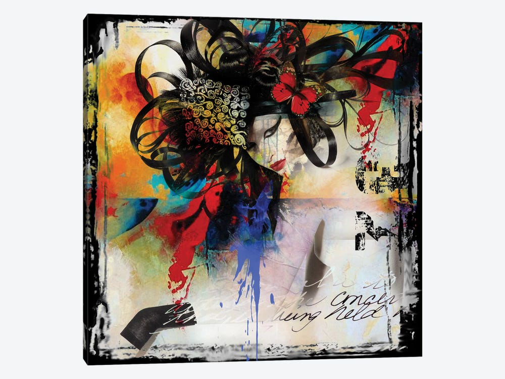 Elegant by Micha Baker 1-piece Canvas Wall Art