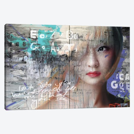 Asia Love Canvas Print #BKR1} by Micha Baker Canvas Artwork