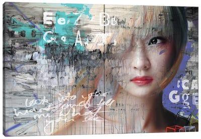 Asia Love Canvas Art Print