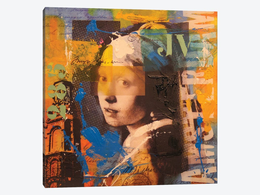 Girl by Micha Baker 1-piece Canvas Artwork