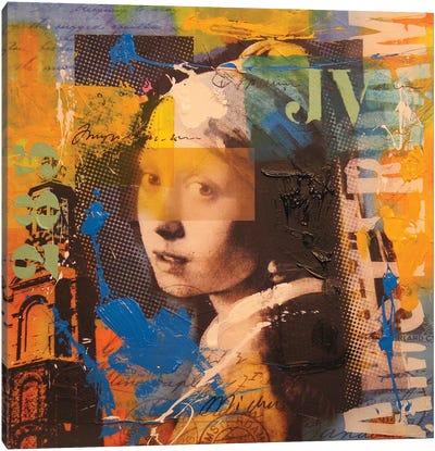 Girl Canvas Art Print