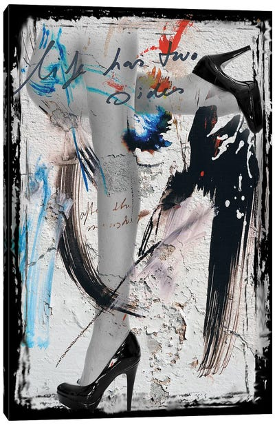 Heels & Legs II Canvas Art Print